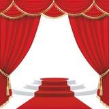 Teateretapp ingrepp Royaltyfria Bilder