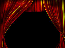Teatergardin Arkivfoto