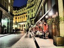 Teaterhenry V och franskastänger och restauranger Royaltyfri Fotografi