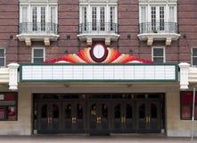 TeaterMarque Royaltyfria Bilder