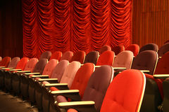 Teaterplaceringar Royaltyfri Fotografi