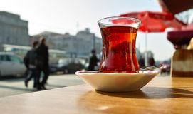 Teatime. In the Streets of Istanbul 2010 Royalty Free Stock Photos