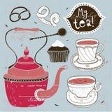 Teatime Foto de archivo libre de regalías