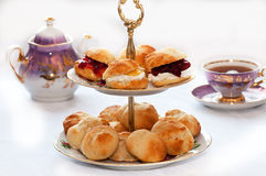 Teatime Imagem de Stock Royalty Free