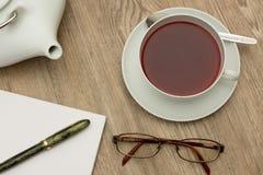 teatime Arkivfoto