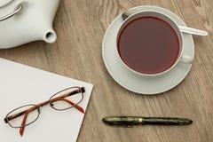 teatime Arkivfoton