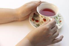 teatime royaltyfria foton