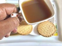 teatime Arkivbild