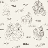 Teatime background Stock Image