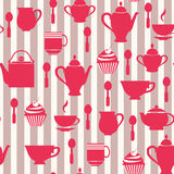 Teatime Background Royalty Free Stock Images