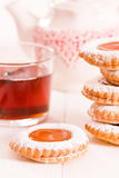 Teatime biscuits. stock photo
