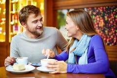Teatime conversation Stock Photos