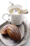 Teatime de Madeleine Imagem de Stock Royalty Free