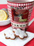 Teatime - herbata z bożych narodzeń ciastkami Zdjęcie Royalty Free