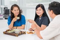 Teatime Royalty Free Stock Photos