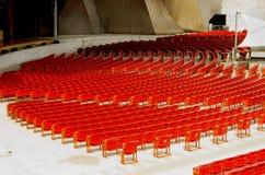 Teatrów krzesła Obraz Stock