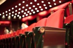 Teatrów siedzenia Obraz Royalty Free