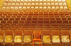 Teatrów siedzenia Zdjęcia Stock