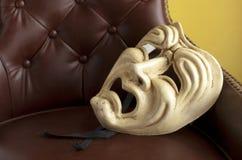 Teatr maska Zdjęcia Royalty Free