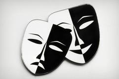 Teatr maski Zdjęcia Stock