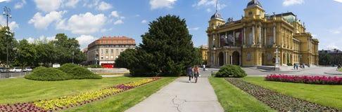 teatr narodowy chorwackiego Obraz Royalty Free
