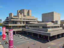 Teatr Narodowy Londyn Zdjęcie Royalty Free