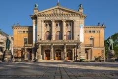 Teatr Narodowy Nationaltheatret w Oslo obrazy royalty free