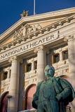 Teatr Narodowy, Oslo obrazy stock