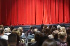 Teatr scena Zdjęcia Royalty Free