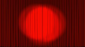 Teatr scena z ekranowym odliczanie royalty ilustracja
