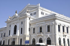 Teatr w Drobeta Turnu-Severin, Rumunia Fotografia Stock