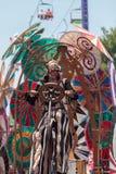 Teatralnie cyrkowego wykonawcy wiertnica Gilday Obraz Stock