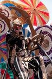 Teatralnie cyrkowego wykonawcy wiertnica Gilday Zdjęcie Royalty Free