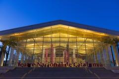 Teatre Nacional de Catalunya, Barcelona Stock Photography