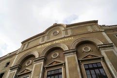 Teatre Principal in Barcelona Stock Photo