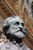 Teatro马西莫,巴勒莫,朱塞佩・韦尔季 免版税库存照片
