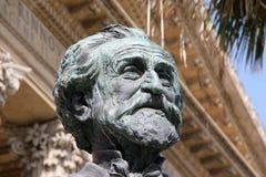 Teatro马西莫,巴勒莫,朱塞佩・韦尔季 免版税图库摄影