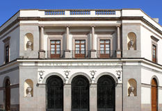 teatro δημοκρατιών queretaro Λα Μεξικό de Στοκ φωτογραφίες με δικαίωμα ελεύθερης χρήσης