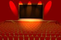 Teatro Fotografia de Stock