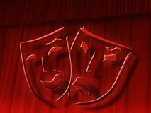 Teatro Imagen de archivo libre de regalías