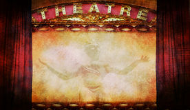 Teatro Imagens de Stock Royalty Free