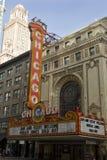 Teatro 2 de Chicago Fotografía de archivo libre de regalías