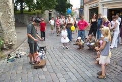 Teatro 2 de la marioneta Foto de archivo libre de regalías