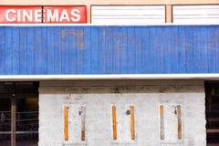 Teatro abandonado del cine Fotos de archivo