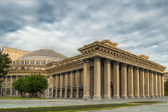 Teatro académico de la ópera de Novosibirsk Imagen de archivo