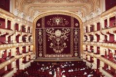 Teatro académico nacional de la ópera y de ballet de Odessa Foto de archivo libre de regalías