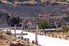 Teatro al aire libre, Ephesus, Turquía Imagen de archivo