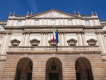 Teatro-alla Scala Mailand stockbild