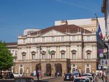 Teatro alla Scala Milan Royalty Free Stock Image