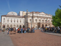 Teatro alla Scala Milan royalty free stock photo